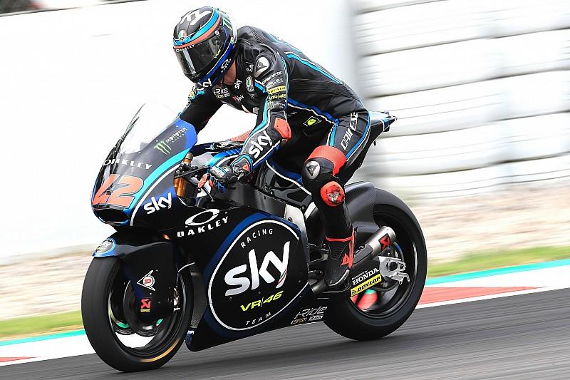 FP3 Moto2 Catalunya: Bagnaia tercepat, Dimas ke-29