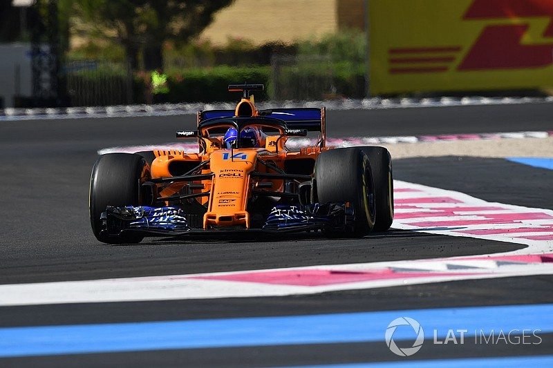 """Alonso: Radio apathy prompted by """"overexcited"""" McLaren"""