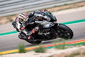 Test SBK, Aragon, Giorno 1: Rea già veloce con la Ninja 2019. La Ducati Panigale V4 subito terza