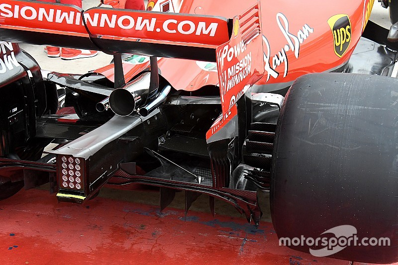Formel-1-Technik: Detailfotos beim GP USA