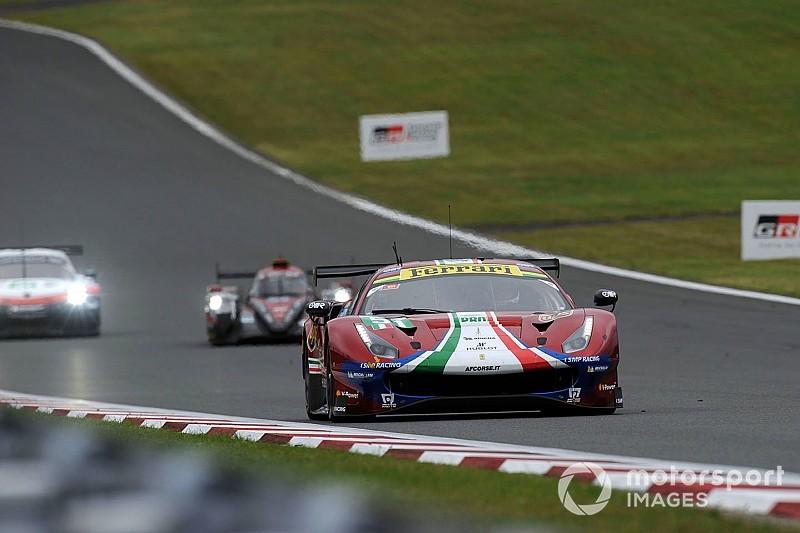 Ferrari had one-two finish
