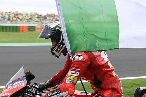 Éxtasis italiano con Bagnaia y Ducati en Misano: las fotos de la carrera
