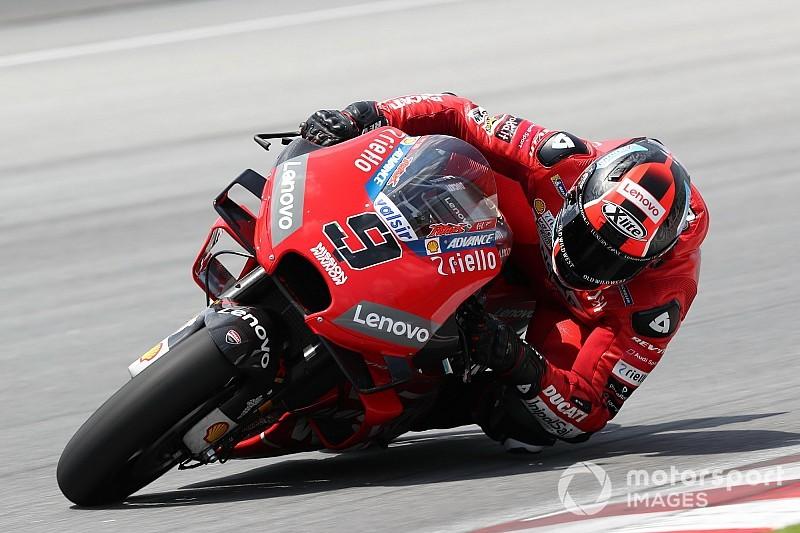 Гонщики Ducati заняли четыре первых строчки по итогам финального дня тестов MotoGP