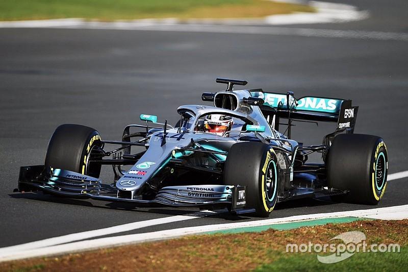 Photos - Le shakedown de la Mercedes W10