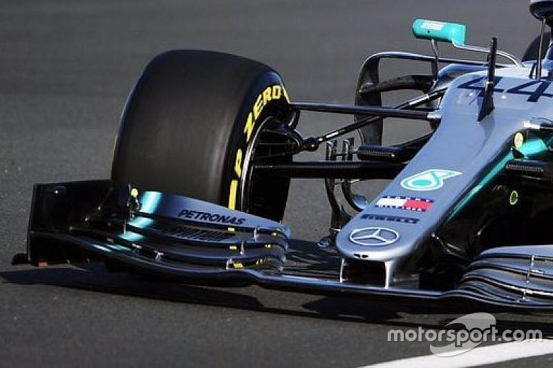 GALERÍA: Lewis Hamilton se estrena en el Mercedes W10