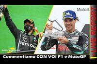 Report LIVE: GP del Portogallo di F1 e Teruel MotoGP