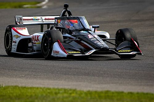 VeeKay leads 21-car IndyCar test at Barber