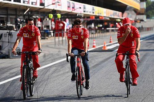 Drugie miejsce celem Ferrari
