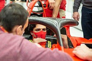 サインツJr.、フェラーリF1初ドライブへ。フィオラノで旧型マシンテストが決定