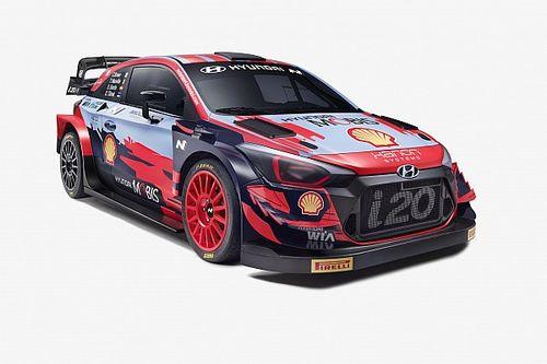 WRC 2021: Hyundai presenta la nuova livrea delle i20 Coupé