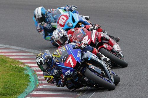 全日本ロード鈴鹿JSB1000レース1:中須賀克行が開幕3連勝達成。加賀山就臣が3位表彰台