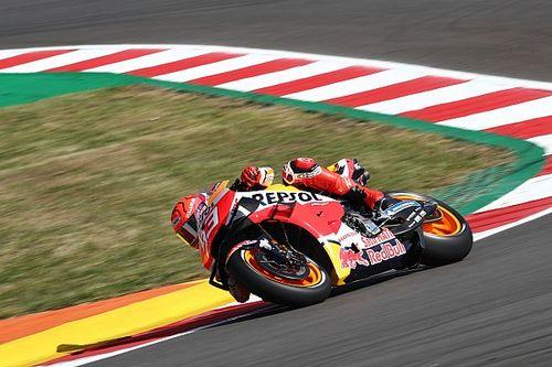 Marquez derde in eerste training GP Portugal, Viñales de rapste