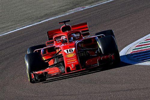 Ferrari sorprende con un test de Leclerc en Fiorano