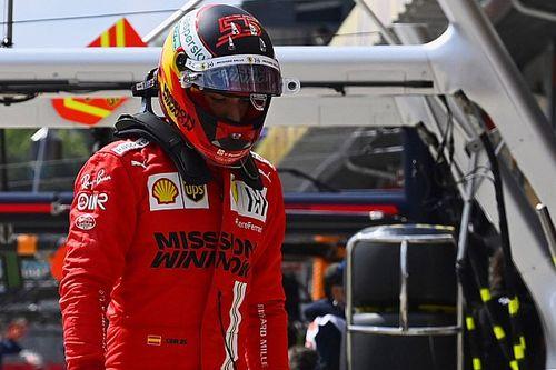 La decepción de Sainz tras quedar fuera de la Q3 en Imola