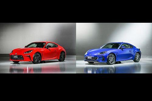 TOYOTA GAZOO Racing&スバル、共同開発の『新型GR 86』『新型SUBARU BRZ』を初公開