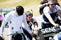 No apto para sensibles: Correa muestra sus huesos fracturados