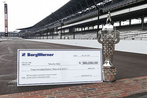 $380,000 BorgWarner jackpot could await Sato at Indy 500
