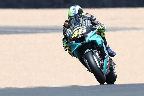 Rossi heeft hoop na goede vrijdag in Le Mans