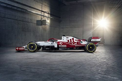 F1: Alfa Romeo comemora 111 anos com pintura especial na Áustria