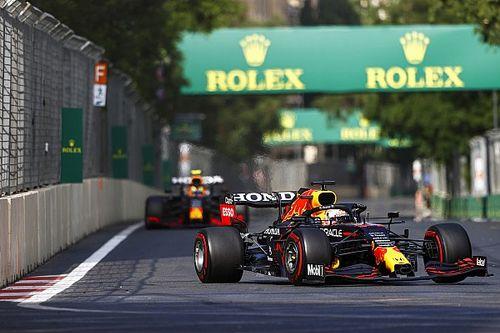 F1: Pirelli afirma que Red Bull e Aston Martin usaram pneus com pressão baixa em Baku, mas isenta equipes
