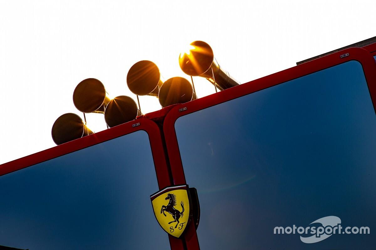 Прямой эфир: презентация Ferrari