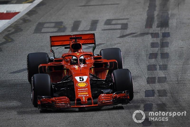 Vettel, frustrado por los problemas en Singapur