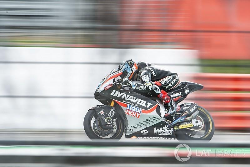 FP3 Moto2 Inggris: Schrotter teratas, Oliveira tercecer