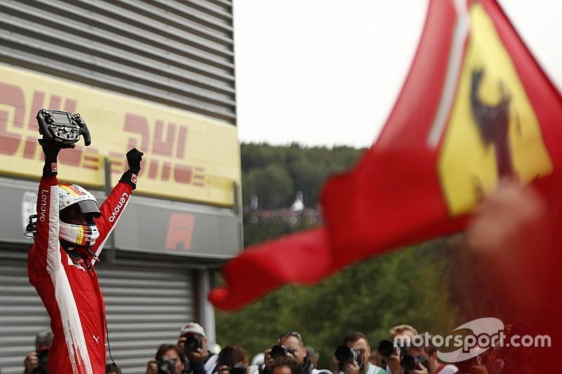 Vettel espera que Ferrari gane y eso ayude a Monza a seguir en F1