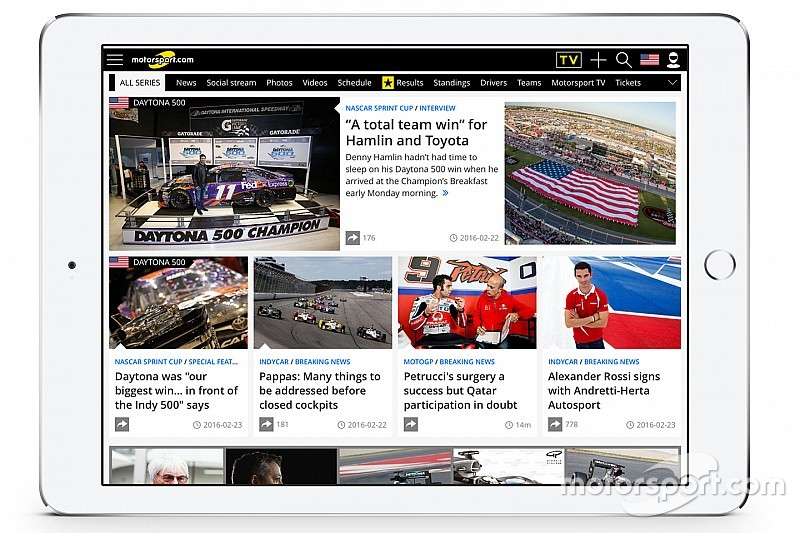 Motorsport.com diversifies North American digital platform