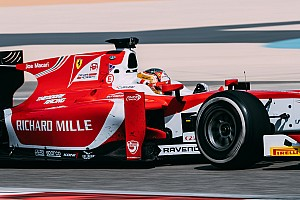 FIA F2 Race report Bahrain F2: Leclerc fights back after stop for maiden win