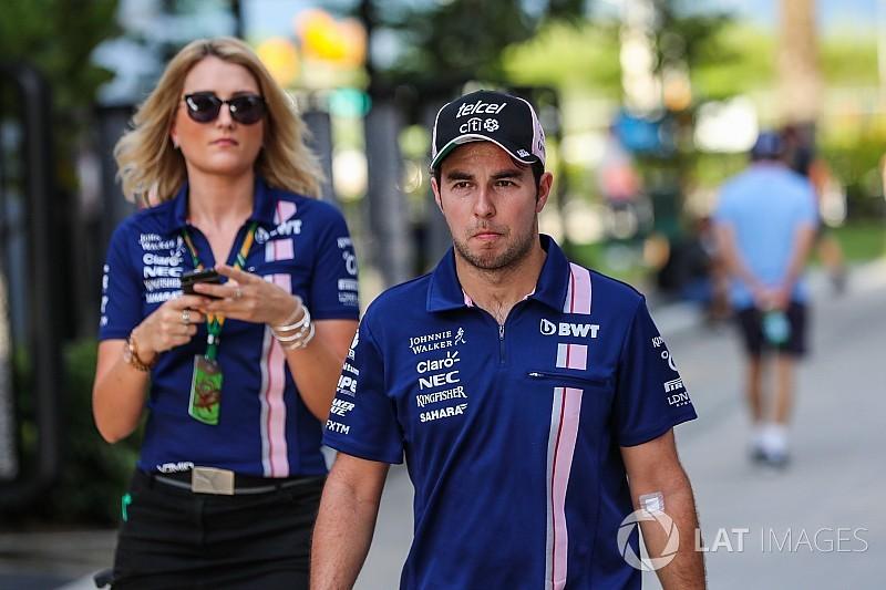 Sergio Pérez betegen jutott be a Q3-ba