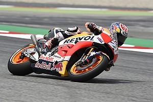 MotoGP Résumé d'essais libres EL4 - Pedrosa le plus rapide, Iannone s'invite entre les deux Honda