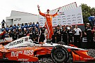 IndyCar Toronto IndyCar: Newgarden holds off Rossi as other aces hit bad luck