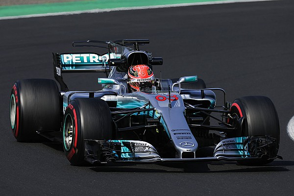 Formula 1 Breaking news Mercedes junior Russell set to test for two F1 teams