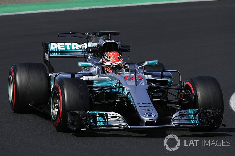 Júnior da Mercedes, Russell deve testar em dois times da F1
