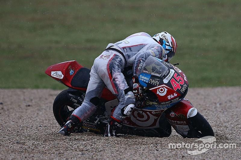 Серфинг на мотоцикле. Такой аварии в MotoGP вы еще не видели