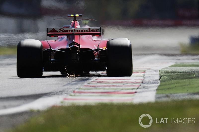 Відео: зони прискорення Ferrari в Монці