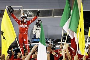 F1 Reporte de la carrera Vettel doblega a los Mercedes en Bahrein