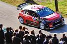 【WRC】フランス初日午前:ミーク首位。ハンニネンはクラッシュ炎上