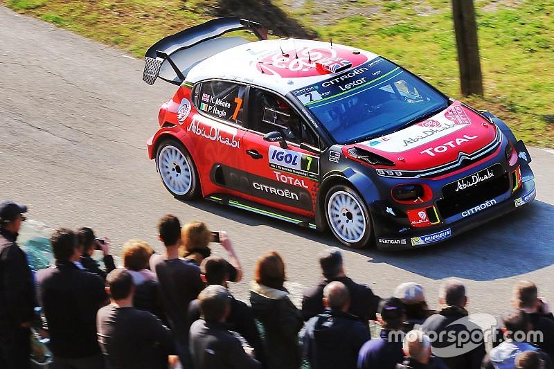 Corsica WRC: Meeke takes early lead, Hanninen crashes