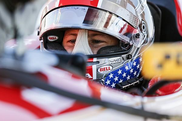 Barber IndyCar: Marco Andretti manda en el calentamiento