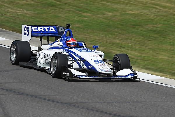 Indy Lights Colton Herta centra il secondo successo stagionale in Gara 2 a Barber