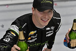 IndyCar Interview Newgarden ignores the praise, still feels the pressure