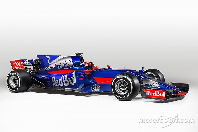 Toro Rosso показала STR12: у нее новая раскраска