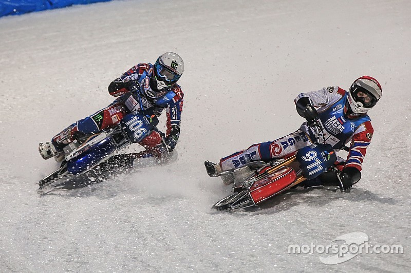 Сборная России стала чемпионом мира по ледовому спидвею