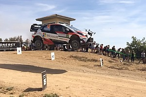 WRC Новость Видео: машина WRC сбила дрон