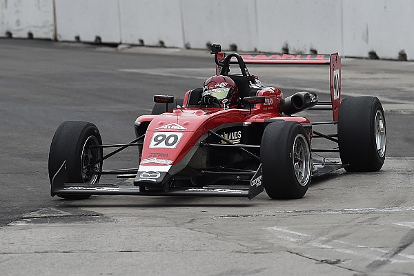 USF2000 Race report Toronto USF2000: Thompson scores Exclusive Autosport's first win