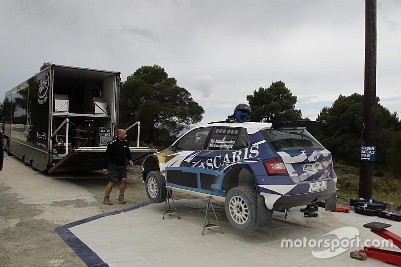 Iniziati i test in vista dell'Acropolis Rally