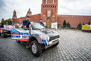Cross-Country Rally Qualifying report The long journey across two continents has started