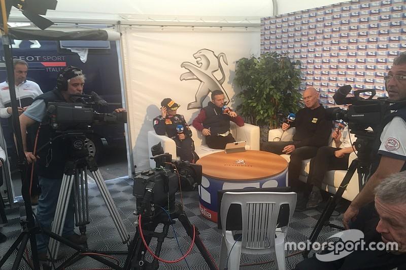 Ucci&Ussi si concedono alla stampa nella nuova Hospitality Peugeot